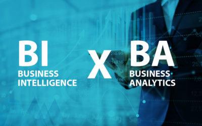 Business Intelligence x Business Analytics