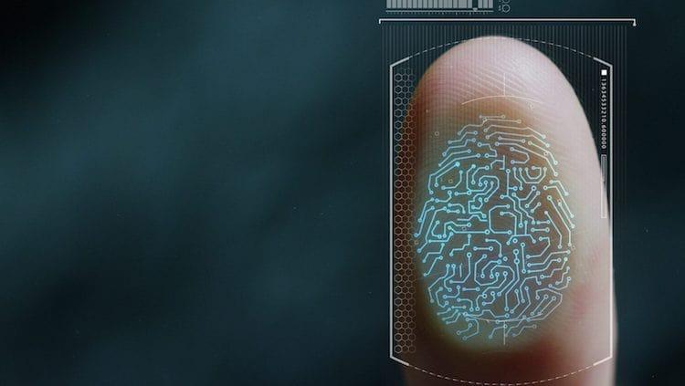 senha por assinatura biométrica